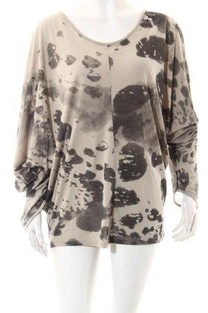 Rich & Royal Shirt schwarz-grau Casual-Look