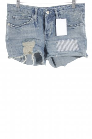 Rich & Royal Shorts stahlblau Beach-Look