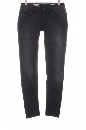 Rich & Royal Skinny Jeans schwarz Jeans-Optik