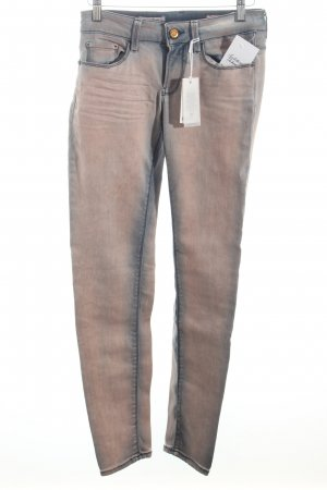 Rich & Royal Skinny Jeans altrosa-blau Casual-Look