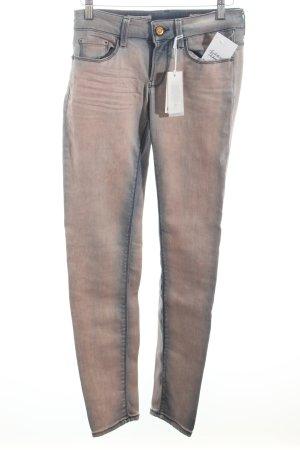Rich & Royal Skinny Jeans altrosa-blau Casual-Look