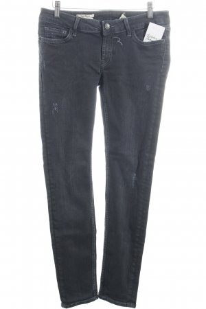 Rich & Royal Skinny Jeans anthrazit Casual-Look