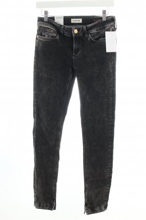 Rich & Royal Skinny Jeans anthrazit Used-Optik