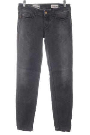 Rich & Royal Skinny Jeans dunkelgrau-wollweiß Casual-Look