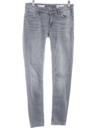 Rich & Royal Skinny Jeans grau Casual-Look