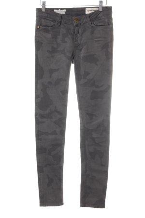 Rich & Royal Skinny Jeans grau-dunkelgrau Military-Look
