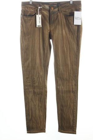 Rich & Royal Skinny Jeans hellbraun-hellbeige Country-Look