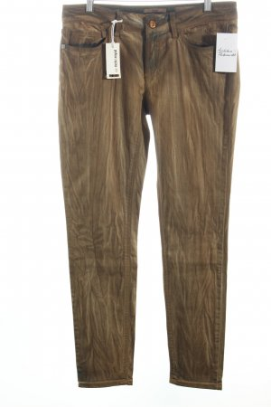Rich & Royal Skinny Jeans hellbraun-hellbeige Country-Look