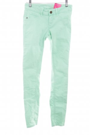 Rich & Royal Skinny Jeans hellgrün Casual-Look