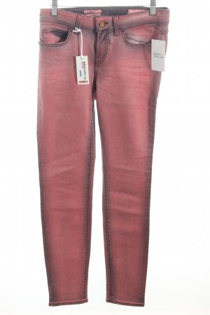 Rich & Royal Skinny Jeans rosa-dunkelgrau Casual-Look