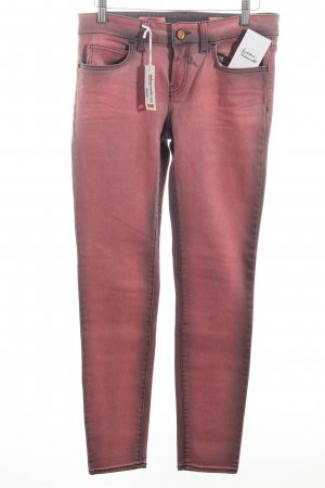 Rich & Royal Skinny Jeans rosa-dunkelgrau Casual-Look