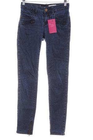 Rich & Royal Skinny Jeans schwarz-stahlblau Casual-Look
