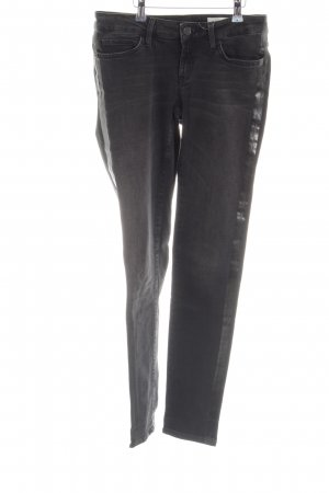 Rich & Royal Skinny Jeans schwarz Street-Fashion-Look