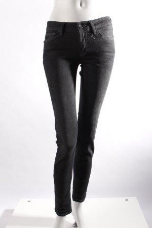 Rich & Royal Skinny Jeans schwarzgrau