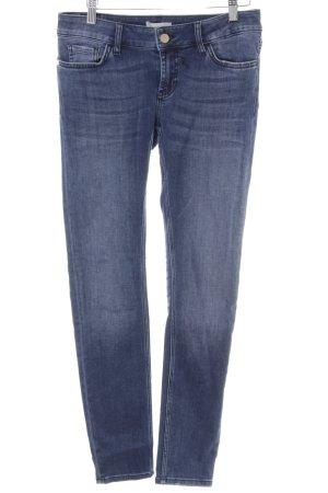 Rich & Royal Skinny Jeans stahlblau Casual-Look
