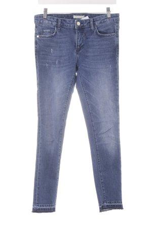 Rich & Royal Skinny Jeans stahlblau-kornblumenblau Casual-Look