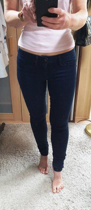Rich & Royal Skinny Jeans Stretch dunkelblau W27 L32 Neuwertig