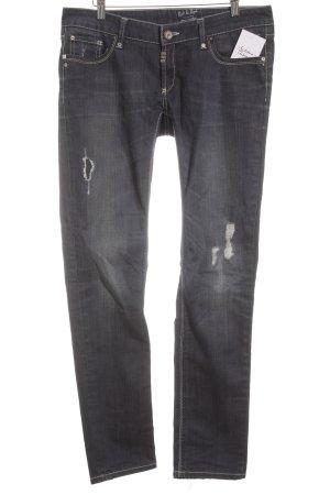 Rich & Royal Slim Jeans dunkelblau Casual-Look
