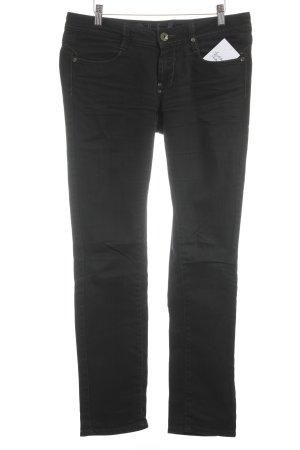 Rich & Royal Slim Jeans schwarz Casual-Look