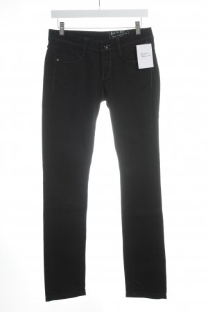 Rich & Royal Slim Jeans schwarz Casual-Look