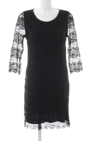 Rich & Royal Lace Dress black elegant