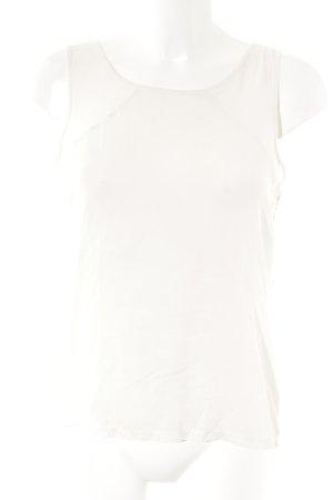 Rich & Royal Top di merletto crema stile da moda di strada