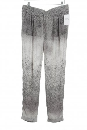 Rich & Royal Jersey Pants allover print casual look