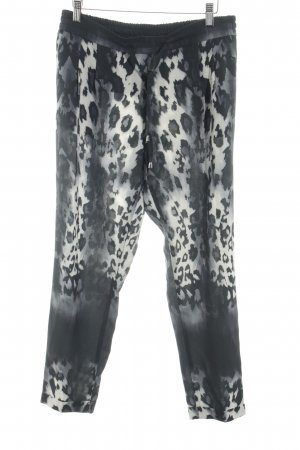 Rich & Royal Stoffhose Animalmuster Street-Fashion-Look