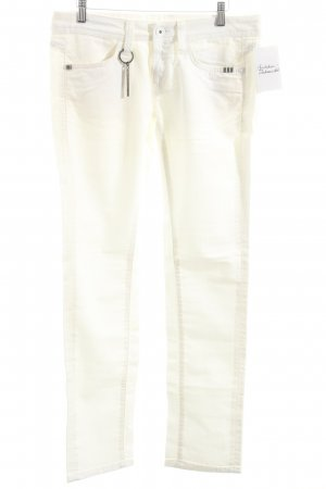 Rich & Royal Straight-Leg Jeans weiß Casual-Look