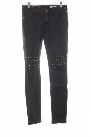 Rich & Royal Stretch Jeans schwarz Jeans-Optik
