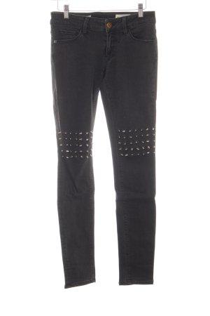Rich & Royal Jeans stretch noir Aspect de jeans