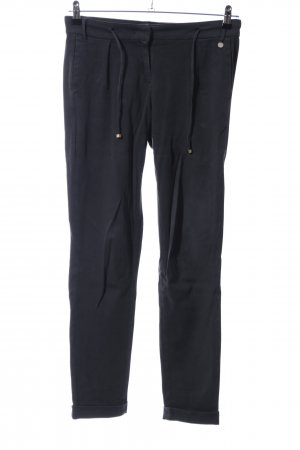 Rich & Royal Stretch Trousers black casual look