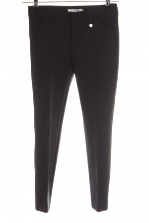 Rich & Royal Stretchhose schwarz Business-Look