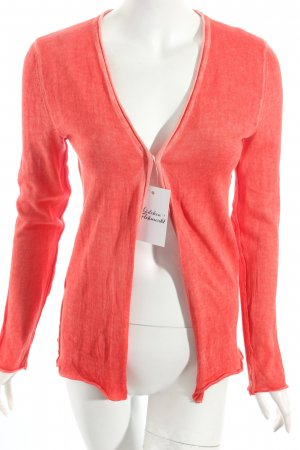Rich & Royal Strick Cardigan neonorange Used-Optik