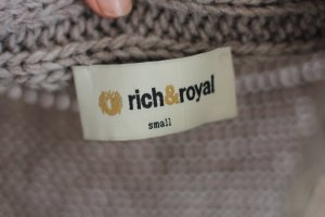 Rich & Royal Strickjacke Beige