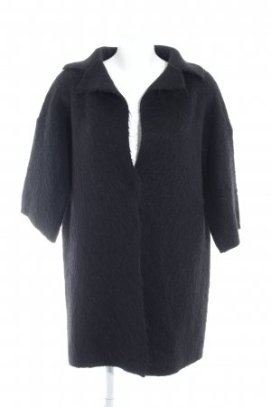 Rich & Royal Knitted Coat black casual look