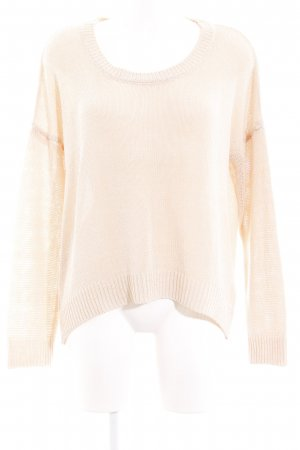 Rich & Royal Strickpullover creme Casual-Look