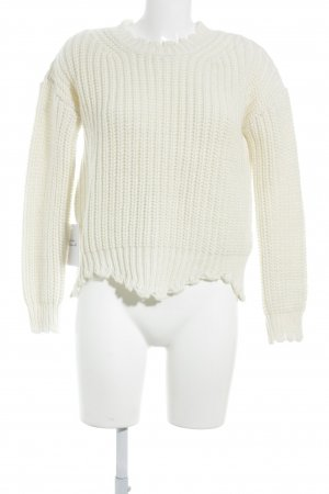 Rich & Royal Strickpullover wollweiß Casual-Look
