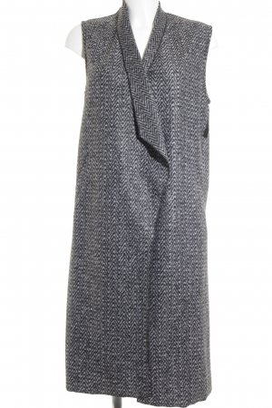 Rich & Royal Strickweste Zackenmuster Casual-Look