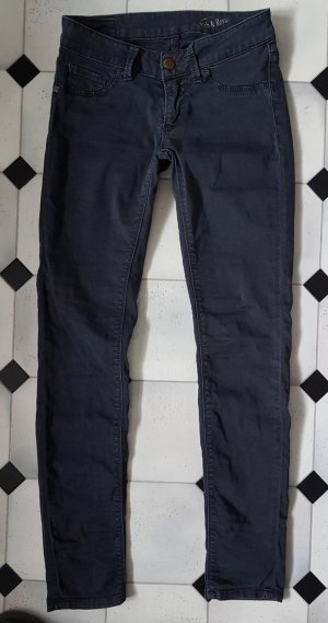 Rich & Royal Super Skinny Jeans W27/L32 blauschwarz washed out