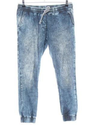 Rich & Royal Sweat Pants blue casual look