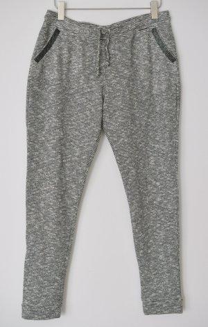 Rich & Royal Sweatpants Jogpants 45q925 schwarz weiß Glitzer Gr. 42 UNGETRAGEN