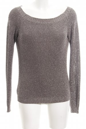 Rich & Royal Sweatshirt braun-silberfarben meliert Casual-Look