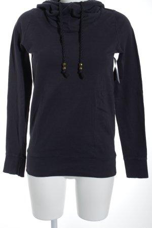 Rich & Royal Sweatshirt dunkelblau Casual-Look