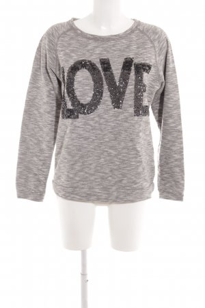 Rich & Royal Sweatshirt gestippeld casual uitstraling