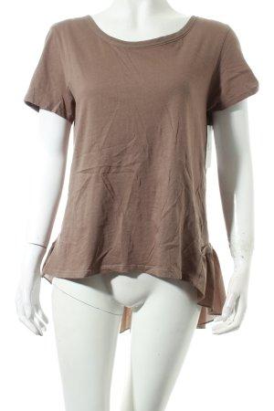 Rich & Royal T-Shirt graubraun klassischer Stil