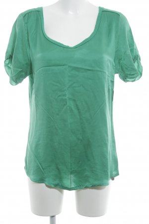 Rich & Royal T-shirt groen casual uitstraling