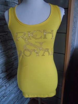 Rich & Royal Tank Top Gr. M NP 32,95 € Neongelb