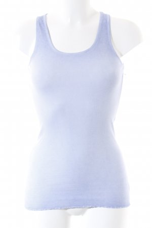 Rich & Royal Tanktop kornblumenblau-stahlblau Farbverlauf schlichter Stil