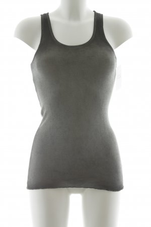 Rich & Royal Tanktop taupe-grau Farbverlauf Casual-Look